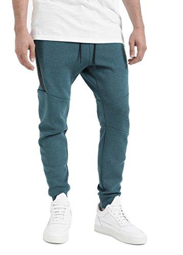 Nike Sportswear Tech Fleece Mens Joggers 805162 Tracksuit Bottoms (Large, Turquesa (Midnight Turq / Htr / Black 346)