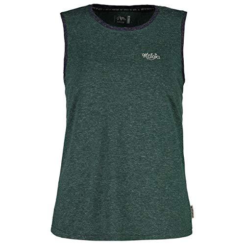 MultiCouleure - gris pierre pin (Stone Pine) XL Maloja Sleeveless Multisport Jersey pour Femme