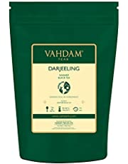 VAHDAM, Darjeeling Tea Leaves from Himalayas (120+ Cups), 100% Certified Pure Unblended Darjeeling Black Tea, FTGFOP1 Grade Loose Leaf Tea, Packed & Shipped Direct from Source in India, 9-Ounce Bag