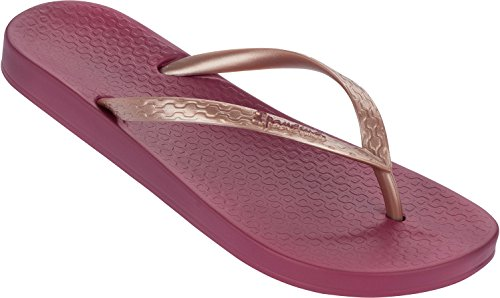 Wine Ipanema Flip Girls' Flop Rose Tropical Gold pxnnZIfrq
