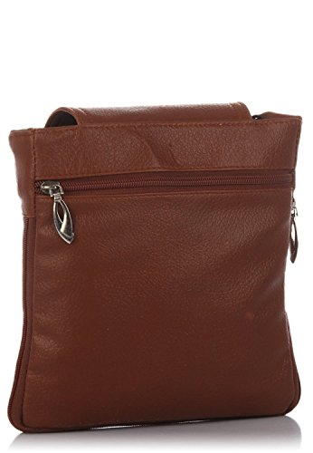 Deal especial Sliver Brown Sling Style A tracolla cartella