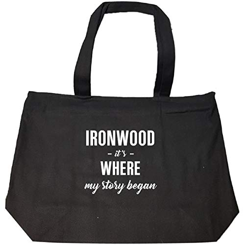 Ironwood It's Where My Story Began Cool Gift - Tote Bag With Zip