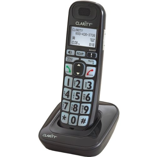 CLARITY 52703 Additional Handset for E814 (Black)