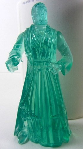 Star Wars Obi Wan Kenobi Clear Green Figure - Kenner 1997