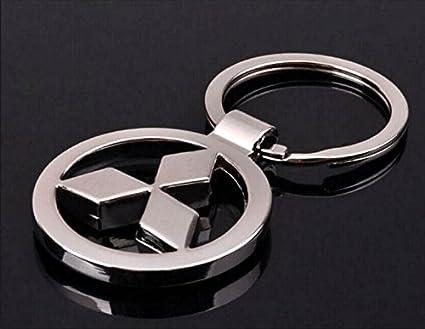 Llavero, logotipo de Mitsubishi.: Amazon.es: Coche y moto