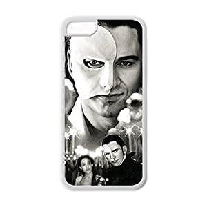 Diy iPhone 6 plus Retro/Excellent Pattern Case with Phantom of the Opera Damage Proof Protective TPU Case Cover Design for iPhone 6 plus -White031208