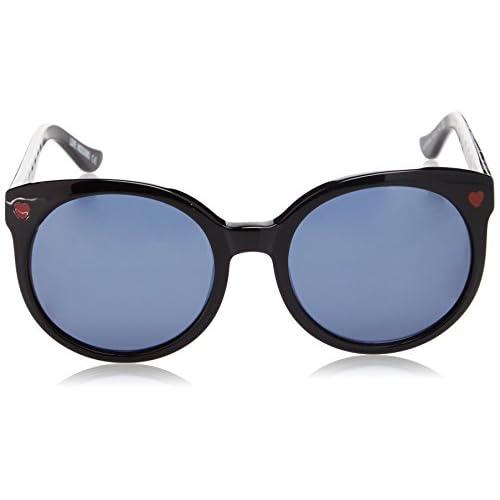 ae9fecca29 Durable Modelando Moschino Eye, Gafas de Sol para Mujer, Negro (Nero/ Multicolore
