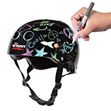 Triple Eight 5 Plus Years Wipeout Dry Erase Helmet