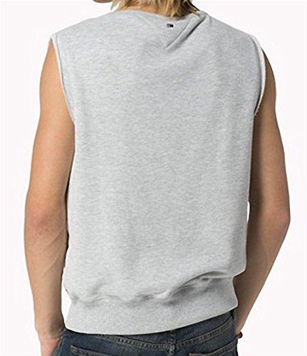 Tommy hilfiger grau ärmellose pullover