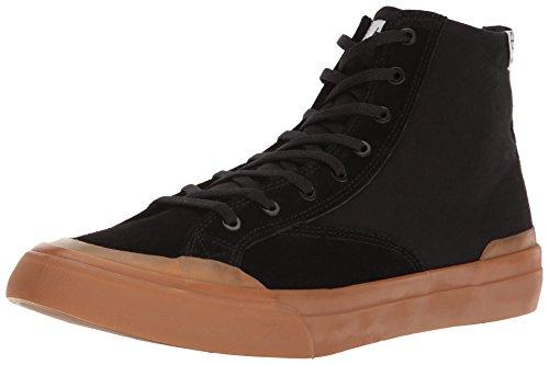 Huf Mens Classic Hi Ess Scarpe Da Skateboard Black / Gum