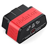 OBDATOR Car Bluethooth 3.0 OBD OBD2 Scanner Code Reader OBD 2 OBDII Check Engine Light Diagnostic Scan Tool