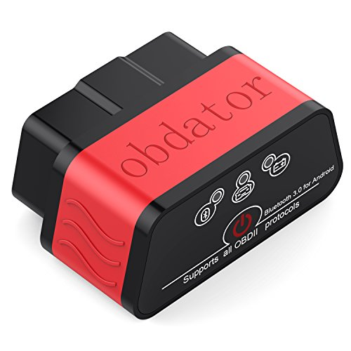 obdator Mini Bluetooth3.0 OBD2 Scanner ELM327 OBD OBDII Code Reader Car Check Engine Light Diagnostic Scan Tool for Android PC