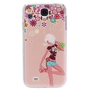 ZL Girl Pattern Hard Case for Samsung Galaxy S4 I9500