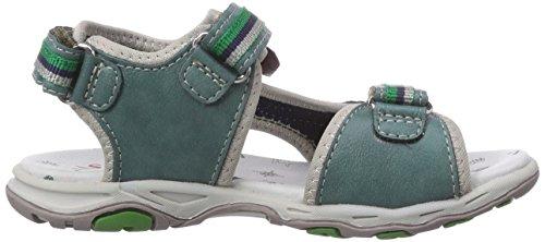 Captn Sharky 410344 - sandalias abiertas de material sintético niño verde - Grün (Grün)