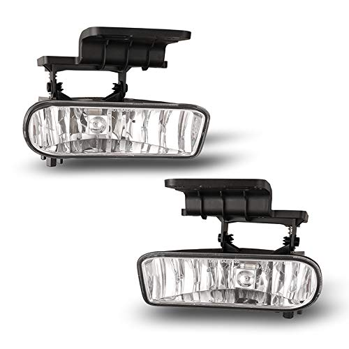 Chevy Replacement Fog Light Assembly - - Driving Plastic Housing Lights