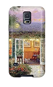 Tpu Shockproof/dirt-proof Painting Cover Case For Galaxy(s5)