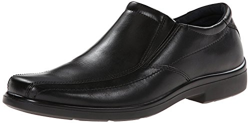 Hush Puppies Mens Rainmaker Slip-On Loafer, Black, 41 EU/7 UK