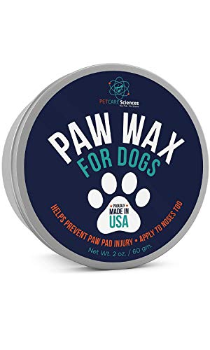 PET CARE Sciences Paw Wax & Paw Balm for Dogs & Cats, Protects, Soothes & Repairs - Proudly Made in The USA