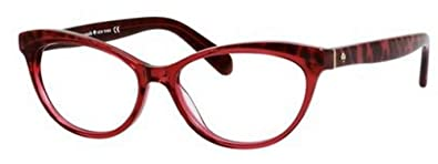 80dc369118 Image Unavailable. Image not available for. Color  Kate Spade Rx Eyeglasses  - Steffi Pink Tortoise   Frame ...