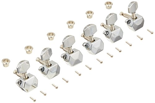 WD Music WD1263LC Steel String Tuners 6 In Line Individual