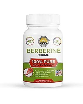 180 Capsules Pure Berberine Proper Dosage 3X – Bio Active Wonder – Crazy Effective New Product Launch Pricing