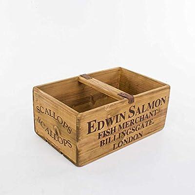 Euro Flora Caja de Madera Decorativa 35x22x15 Cm: Amazon.es: Hogar