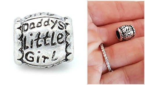 Ewt Pandora Compatible Daddys Little Girl Dad Daughter European Diy