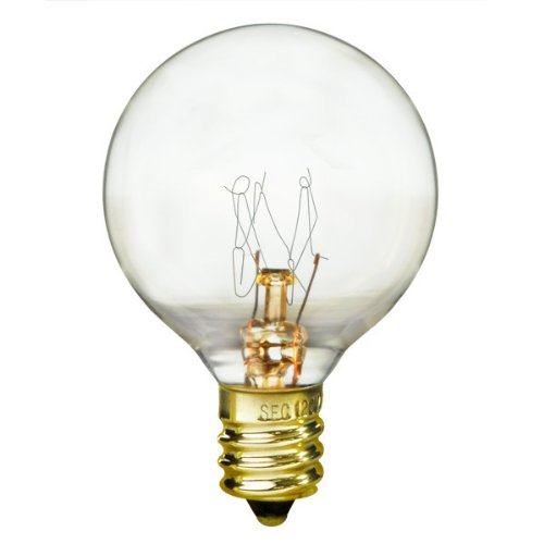 Bulbrite 10G12CL 10W G12 Globe 120V Light Bulb, Clear