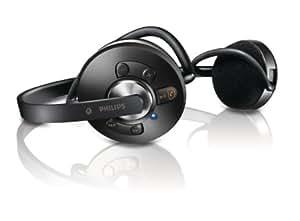 Philips SHB6110 - Auriculares (Binaurale, Negro, Bluetooth, 10m, 2.0+EDR, A2DP, AVRCP)