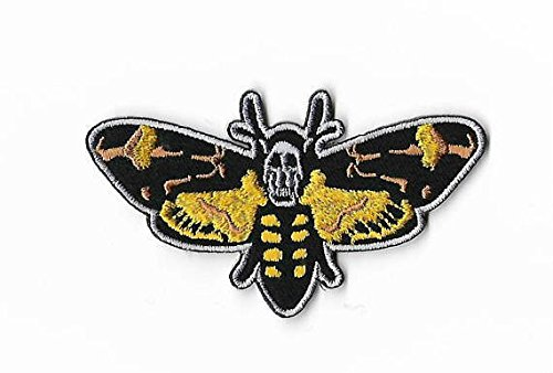 [Silence of the Lambs Patch Embroidered Iron / Sew on Badge Red Dragon Horror Movie Costume Souvenir Applique] (Thriller Video Costumes)