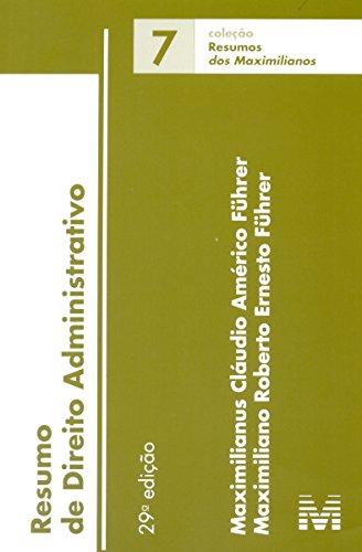Resumo de Direito Administrativo - Volume 7