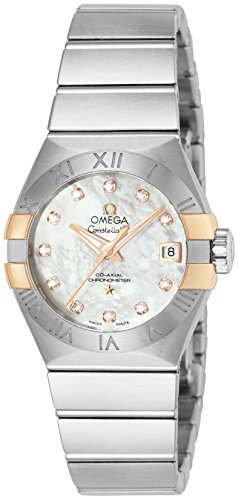 Wrist Omega Automatic Watch (OMEGA wristwatch Constellation Co-Axial automatic 123.20.27.20.55.004)
