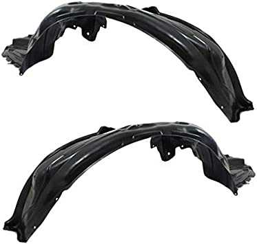 Splash Shields Fender Liner Set of 2 New Front Right-and-Left LH /& RH 300 Pair