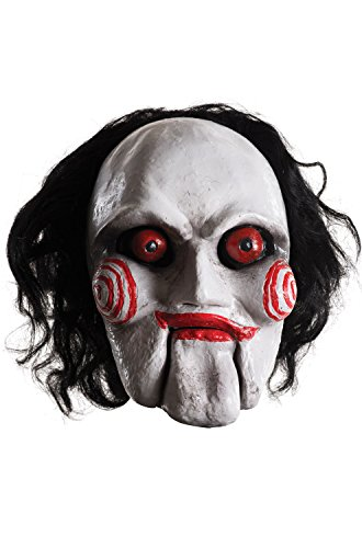 Rubie's Men's Saw Billy Overhead Latex Mask, Multi, One (Scary Puppets Costumes)