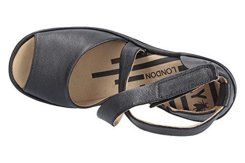 FLY P500865000 Noir JONG865FLY Sandale LONDON 7wqSZr7F8