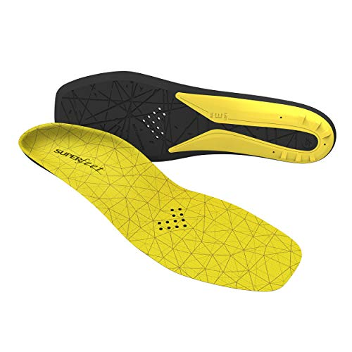 Superfeet Hockey Comfort Insoles for Orthotic Support and Cushion in Casual Hockey Skates, Large/E: 10.5-12 US Womens / 9.5-11 US Mens (Mens Skates Hockey)