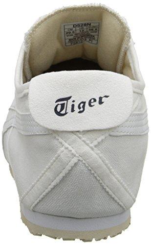 Onitsuka Asics by Toile Baskets Mexico Tiger White 66 On Slip White qrqEAw5