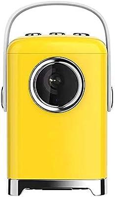 KQKLQQ 4K proyector casero del teléfono móvil Mini pequeño WiFi ...