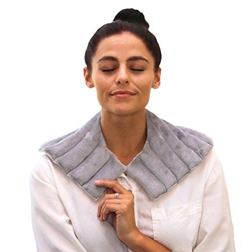 Heating Pad Solutions Épaule Buddy Secours Micro-Ondables & Réutilisable Enroler Chaud & Froid Thérapie Naturelle (Parfum Lavande)