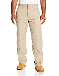 Dickies Occupational Workwear LP856DS 34x34 Polyester/ Cotton Relaxed Fit Men\'s Premium Industrial Double Knee Pant with Straight Leg, 34\