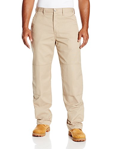 Dickies Occupational Workwear LP856DS 32x34 Polyester/ Cotton Relaxed Fit Men's Premium Industrial Double Knee Pant with Straight Leg, 32