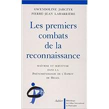 LES PREMIERS COMBATS DE LA RECONNAISSANCE