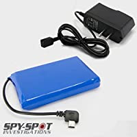 Spy Spot Portable Extended Rechargeable Battery for Real Time GPS Trackers