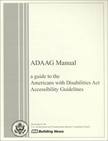 adaag manual a guide to the americans with disabilities act rh amazon com Directors Manual Acts P1000.6 Acts Manual