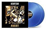 KMFDM - Angst Exclusive Limited Drug Blue Vinyl 2XLP