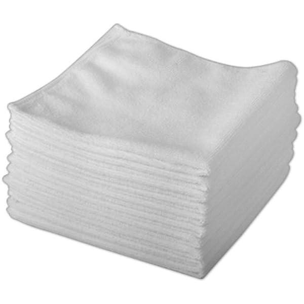 Robert Scott Exel Magic Cleaning - Paños de microfibra (20 unidades), color blanco Limpieza sin productos químicos. Paños antibaterias de microfibra para una limpieza perfecta.: Amazon.es: Hogar