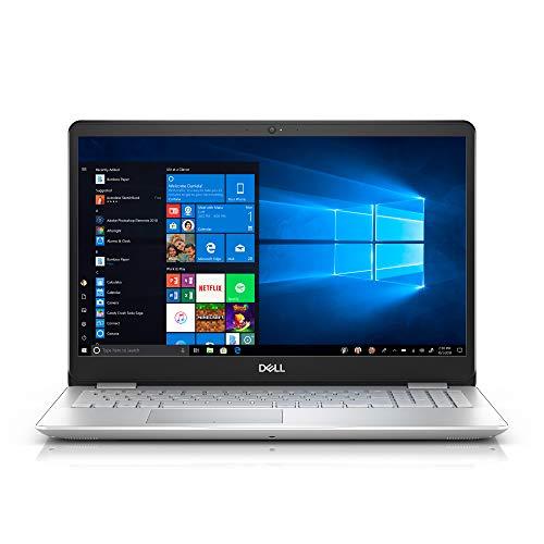 Dell Inspiron 15 5584 15.6 Inch Touchscreen FHD Laptop (Intel 4-Core i7-8565U up to 4.6GHz, 32GB RAM, 1TB SSD (Boot) + 1TB HDD, Backlit KB, Win 10, Silver) + NexiGo Mouse Bundle (Renewed)