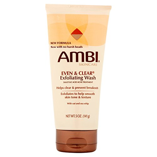 [AMBI] EVEN & CLEAR EXFOLIATING WASH 5OZ FACIAL (Even Exfoliating Cleanser)