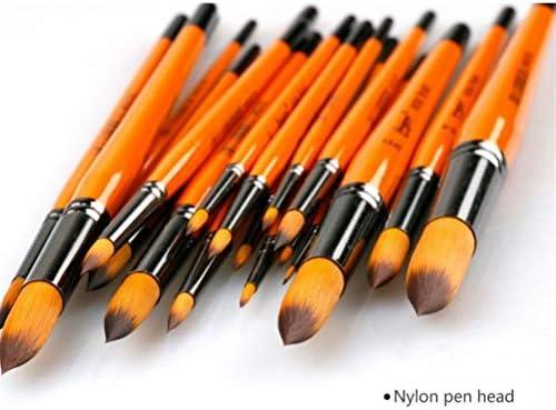 水彩 シングル曲の独立したパッキングアート水彩パウダーラウンドはツートンナイロンブラシスケッチ多目的プロフェッショナルペイント頭 ブラシアク (Color : 5#6#7#8#9#10#)