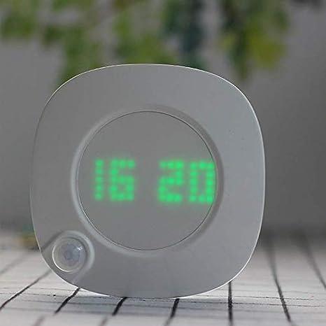 YXF La luz del Sensor de Movimiento LED Celular rotación de Reloj ...